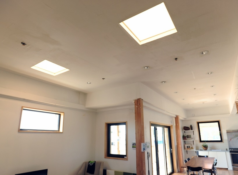 Photo of a home showing windows skylights and sliding glass doors. & Windows Doors and Skylights | Department of Energy