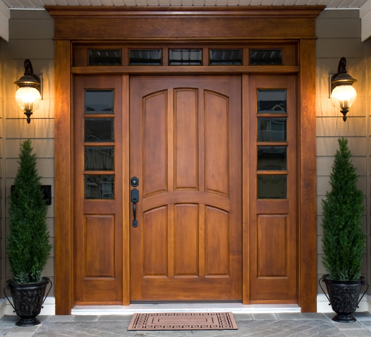 Although many people choose wood doors for their beauty insulated steel and fiberglass doors are more energy-efficient. | Photo courtesy of ©iStockphoto/ ... : image doors - pezcame.com