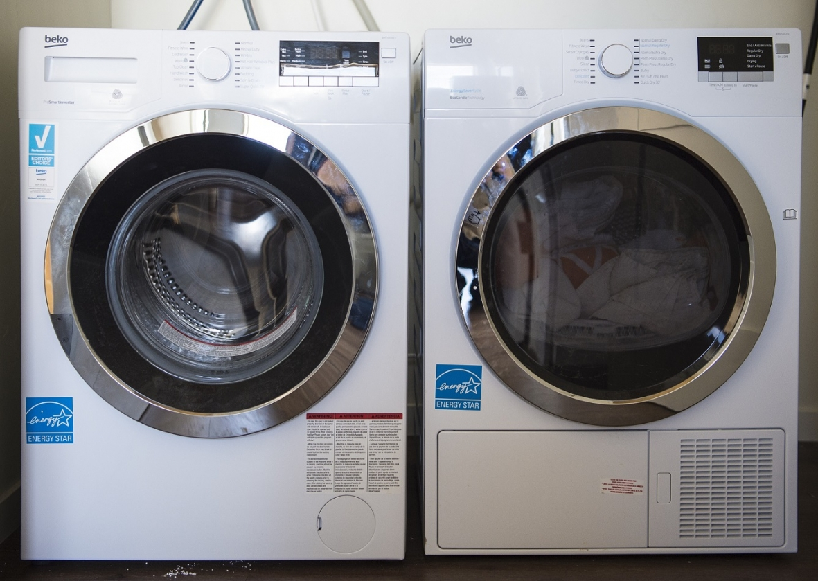 Photo Of An ENERGY STAR Certified Washer And Dryer