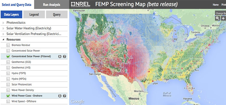 Renewable Energy Maps And Tools Department Of Energy - Solar power map us