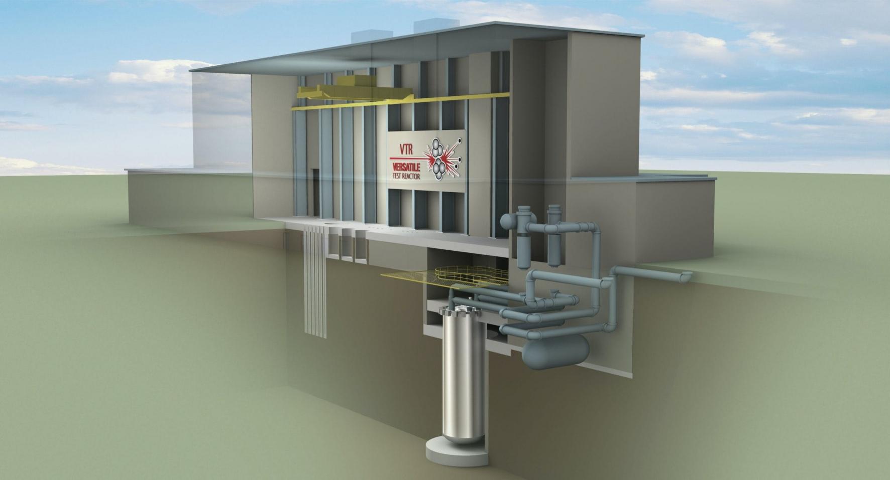 Versatile Test Reactor mock up