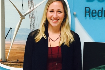 Photo of Jocelyn Brown-Saracino, Environmental Research Manager, Wind Energy Technologies Office