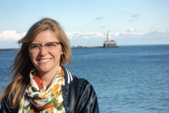 Photo of April Saylor, Former Digital Outreach Strategist, Office of Public Affairs