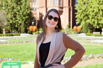 Photo of Carly Wilkins, Multimedia Designer