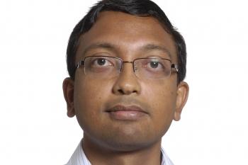 head and shoulders shot of Hari