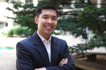 Photo of John Chu, Communications Specialist with the Office of Energy Efficiency and Renewable Energy