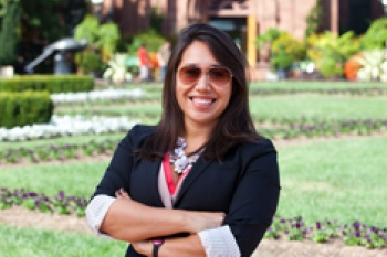 Photo of Sarah Gerrity, Former Multimedia Editor, Office of Public Affairs