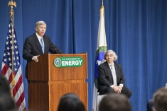 Deputy Secretary Poneman Introduces Dr. Moniz