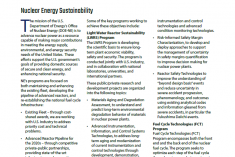Nuclear Energy Sustainability Fact Sheet Cover