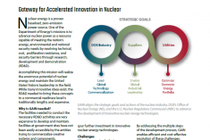 Gateway for Accelerated Innovation in Nuclear Fact Sheet Cover