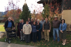 ICP CAB members gather for a meeting in Sun Valley, ID, October 2017