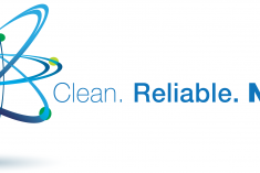 Clean.Reliable.Nuclear logo