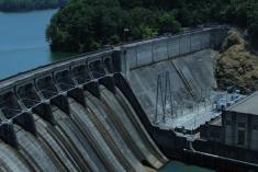 Color picture of Allatonna Dam