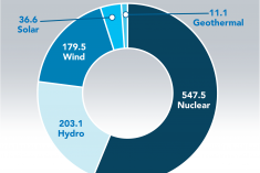 Carbon emissions avoided by the U.S. power industry.