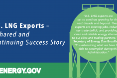U.S. LNG Exports - A Shared and Continuing Success Story