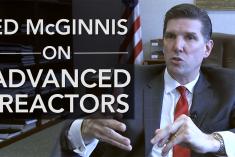 Ed McGinnis on Advanced Reactors
