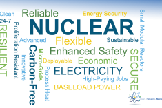 Nuclear Word Cloud image