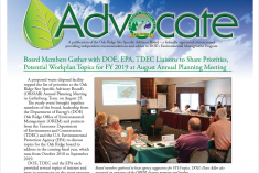 October 2018 Advocate front page