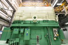 Exterior shot of a test reactor at Idaho National Laboratory