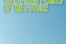 Header for Coal-Fired Plants of the Future Infographic