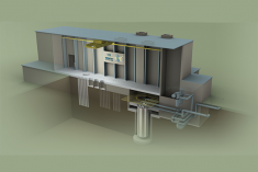 Graphic of a proposed versatile test reactor