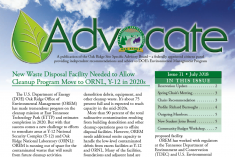 Advocate - ORSSAB Newsletter July 2018