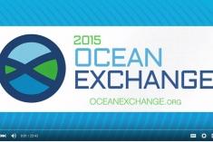 Screenshot of the 2015 Ocean Exchange branding.