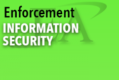 Enforcement Information Security Document