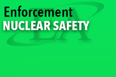 Enforcement Nuclear Safety Document