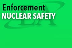Enforcement Nuclear Safety Document