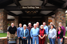 ICP CAB members gather in Sun Valley, ID for a meeting, October 2016
