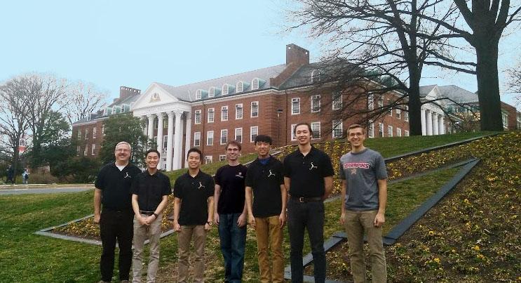Andrew Dallas, Michael Queen, Jason Cho, Andrew Jones, Matthew Blair, Kevin Chung, Team Adviser: Dr. James Baeder
