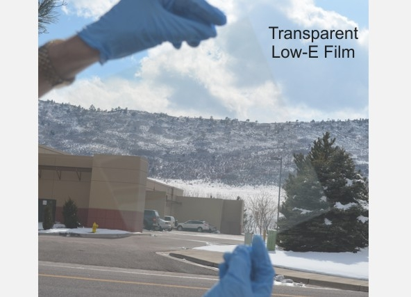 ITN's transparent low-e film. Credit: ITN Energy Systems