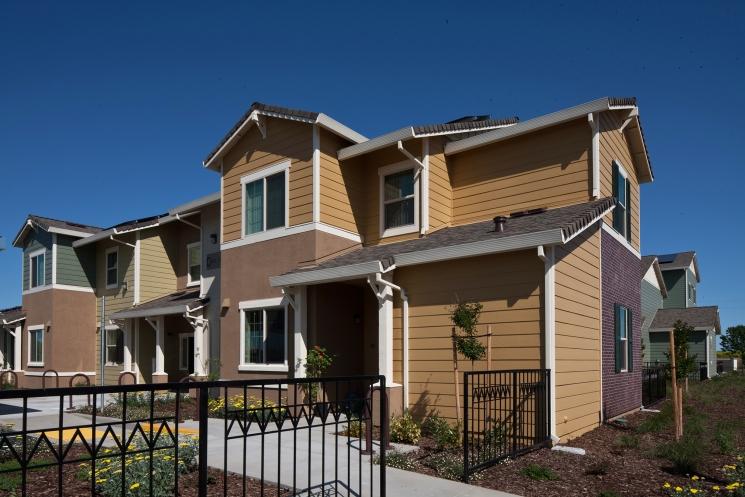 DOE Zero Energy Ready Home Case Study: Mutual Housing California, Mutual Housing at Spring Lake, Woodland, CA