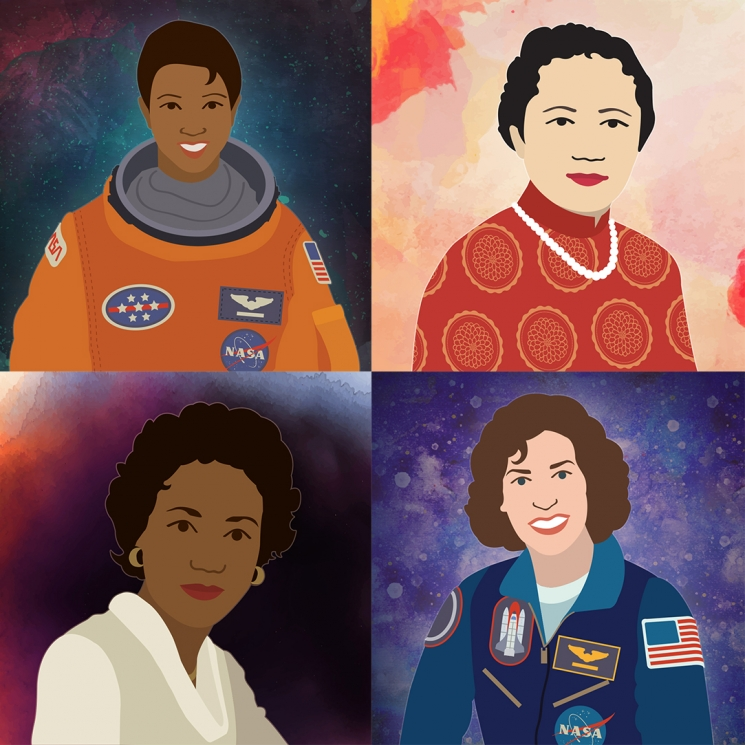 Download Energy.gov's Women's History Month Illustrations
