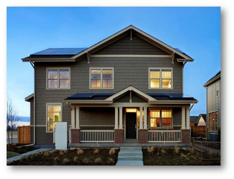 DOE Zero Energy Ready Home Case Study: New Town Builders, Denver, CO