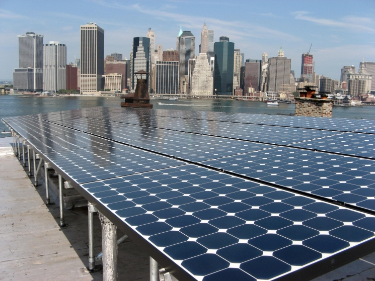 Rooftop Photovoltaic Systems Installed In New York City