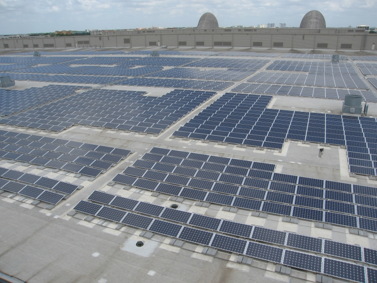 Photovoltaic System on Orange County Convention Center