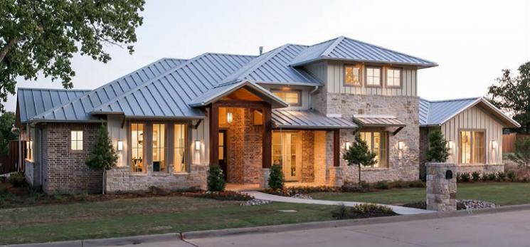 DOE Zero Energy Ready Home Case Study: Sterling Brook Custom Homes, Double Oak, TX