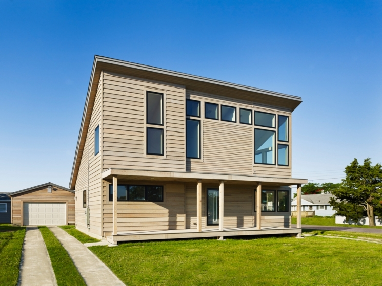 DOE Zero Energy Ready Home Case Study: John Hubert Associates, North Cape May, NJ