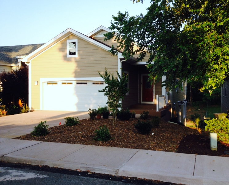 Doe zero energy ready home case study promethean homes for Custom home builders charlottesville va