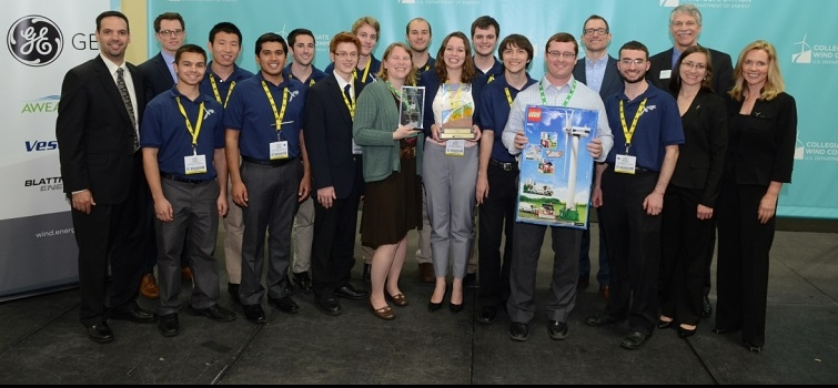 Pennsylvania State University Wins the Inaugural Collegiate Wind Competition