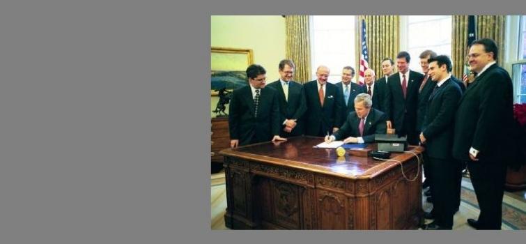 December 3, 2003: Bush signs Nanotechnology R&D Act