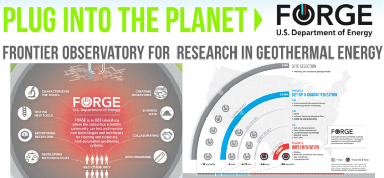 Frontier Observatory for Research in Geothermal Energy (FORGE)