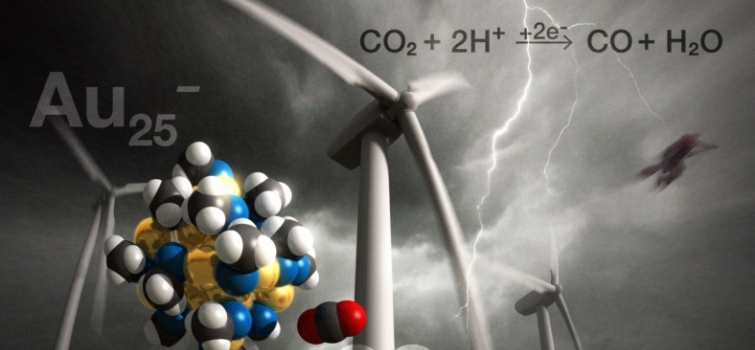 Scientists Can Recycle CO2 Using Gold