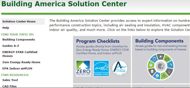 Code Compliance Briefs from the Building America Solution Center