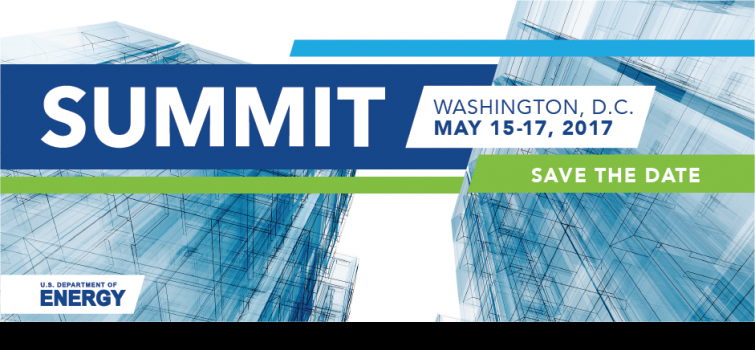 Save the Date: 2017 Better Buildings Summit