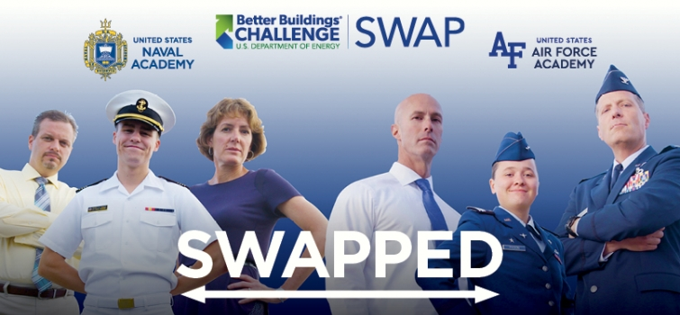U.S. Naval Academy and U.S. Air Force Academy trade campuses in Season 2 of the Better Buildings Challenge SWAP