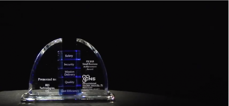BES Technologies Wins CNS-Y12 Small Business Award