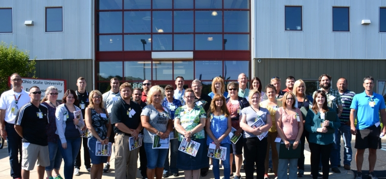 Portsmouth Site Tour Focuses on Potential Careers for High School Graduates